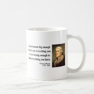 Thomas Jefferson Quote 1c Mugs