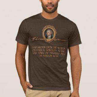 Thomas Jefferson Quote:  Eternal Hostility T-Shirt
