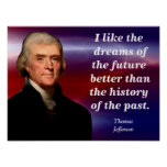 Thomas Jefferson - quote poster