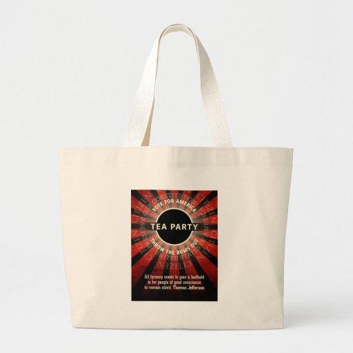 Thomas Jefferson Tea Party Bags