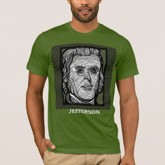 Thomas Jefferson tee by FacePrints