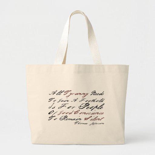 Thomas Jefferson - Tyranny Bag