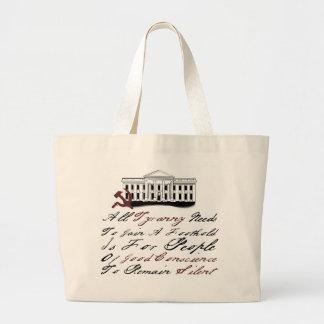 Thomas Jefferson - Tyranny Jumbo Tote Bag
