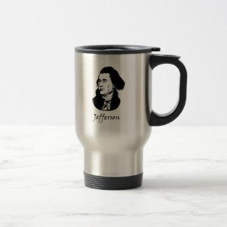 Thomas Jefferson - Vive La Revolution Travel Mug