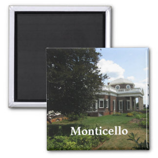 Thomas Jefferson's home: Monticello Magnet