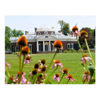 Thomas Jefferson's Monticello Postcard