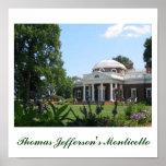 Thomas Jefferson's Monticello Print