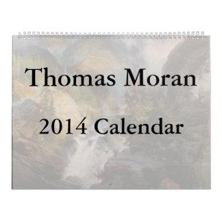 Thomas Moran 2014 Calendar