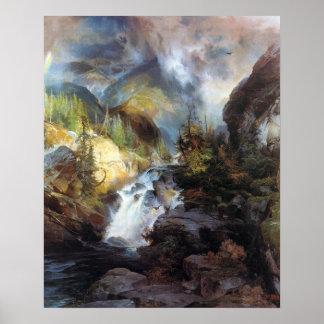 Thomas Moran Children of the Mountain Poster