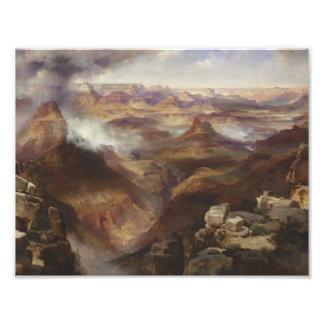 Thomas Moran - Grand Canyon of the Colorado River Photo Art