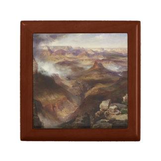 Thomas Moran - Grand Canyon of the Colorado River Small Square Gift Box
