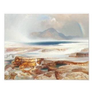 Thomas Moran - Hot Springs of the Yellowstone Photographic Print