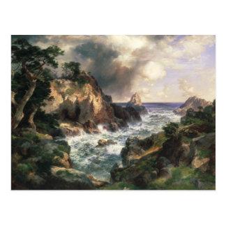 Thomas Moran - Point Lobos, Monterey, California Postcard