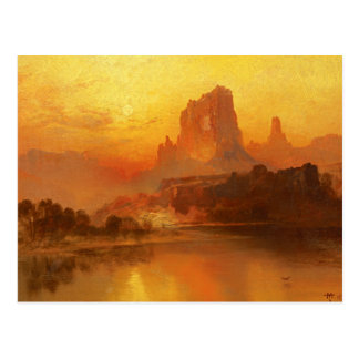 Thomas Moran - The Golden Hour Postcard