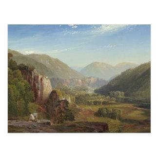 Thomas Moran - The Juniata, Evening Postcard