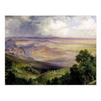 Thomas Moran - Valley of Cuernavaca Postcard