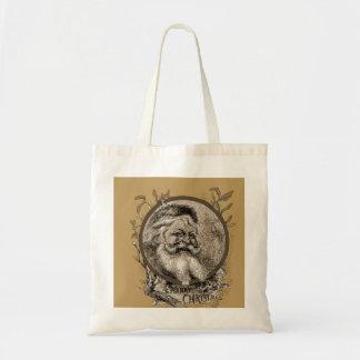 Thomas Nast Santa Claus Christmas tote Budget Tote Bag