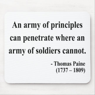 Thomas Paine Quote 4a Mouse Pad