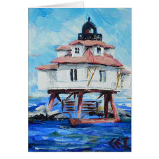 Thomas Point Lighthouse Card