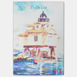 Thomas Point Lighthouse Vendredi Post-it Notes