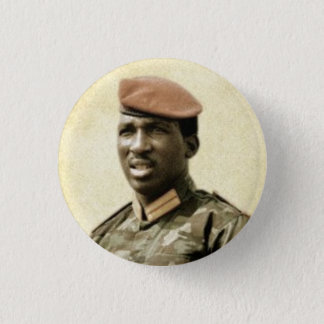 Thomas Sankara 3 Cm Round Badge