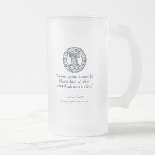 Thomas Sowell (Socialism) Mugs