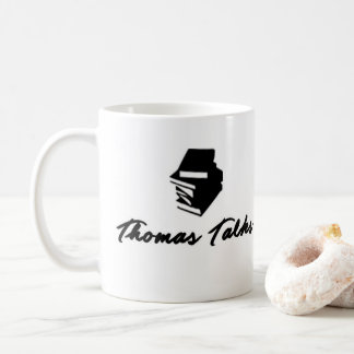 Thomas Talks Logo Coffee Mug