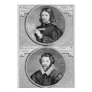 Thomas Tallis and William Byrd Poster
