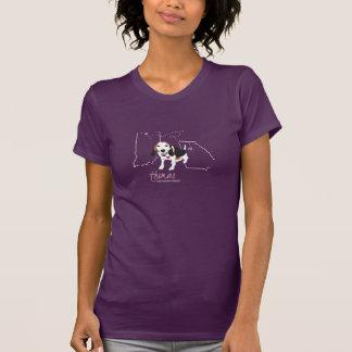 Thomas Tee - Womens American Apparel (purple)