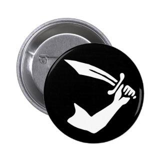 Thomas Tew 6 Cm Round Badge