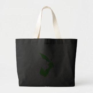 Thomas Tew-Green Jumbo Tote Bag