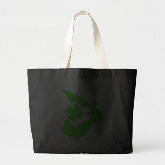 Thomas Tew-Shamrock Jumbo Tote Bag
