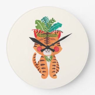 Thomas the Little Tiger Clock