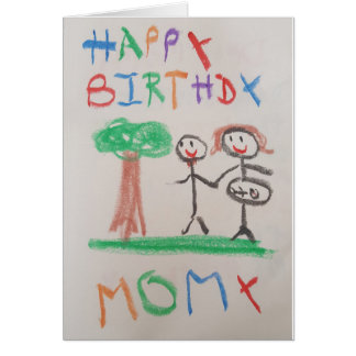 Thomas Tootsies - Happy Birthday Momy Card