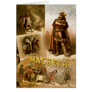 Thomas W. Keene in William Shakespeare's MacBeth Card