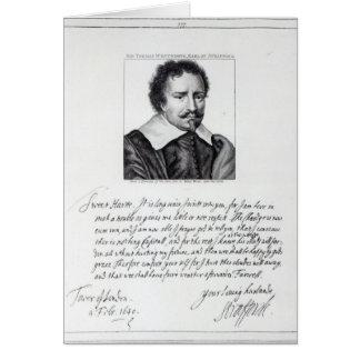 Thomas Wentworth, 1st Earl of Strafford Card