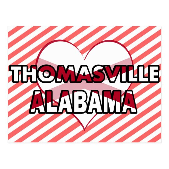 Thomasville, Alabama Postcard