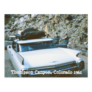 Thompson Canyon Colorado Postcard