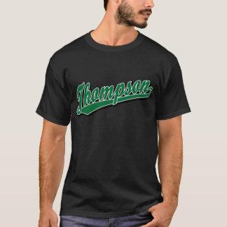 Thompson in Green T-Shirt