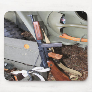 Thompson SMG By Jeep Mousepads