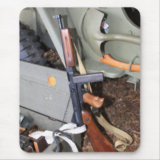 Thompson SMG By Jeep Mouse Pad