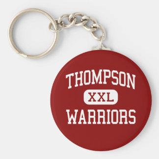 Thompson - Warriors - High - Alabaster Alabama Basic Round Button Key Ring