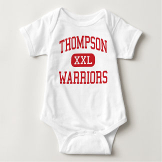 Thompson - Warriors - Middle - Alabaster Alabama Baby Bodysuit