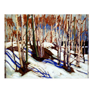 Thomson - Early Spring, Canoe Lake Postcard