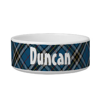 Thomson Tartan Pet Dish - Customized