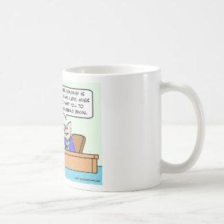 thong bikini businessman secretary coffee mug