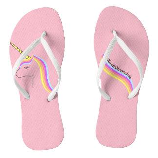 Thongs Sandals flips flops unicorn