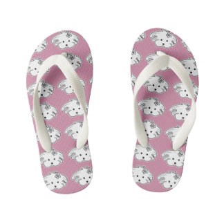 Thongs young pink small dog, the world of Lua
