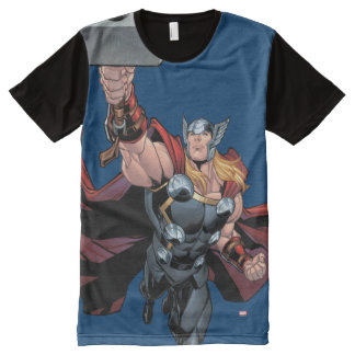 Thor Assemble All-Over Print T-Shirt