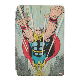 Thor Flying Through City Comic Panel iPad Mini Cover